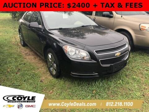 2010 Chevrolet Malibu for sale at COYLE GM - COYLE NISSAN in Clarksville IN