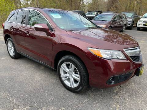 2014 Acura RDX for sale at Bladecki Auto in Belmont NH