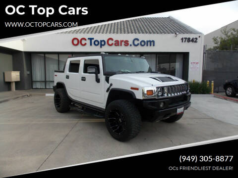 2006 HUMMER H2 SUT for sale at OC Top Cars in Irvine CA