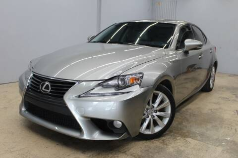 2014 Lexus IS 250 for sale at Flash Auto Sales in Garland TX