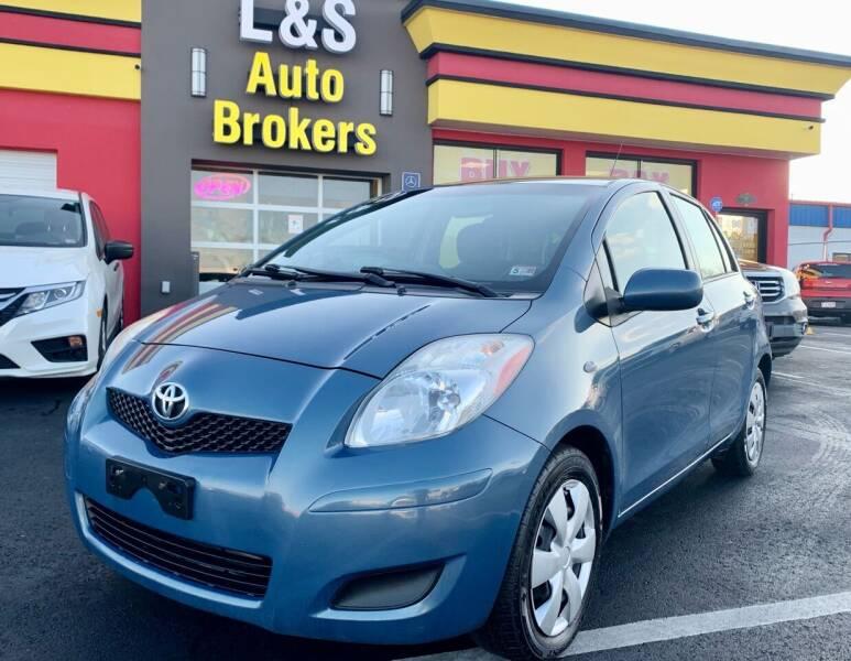 2010 Toyota Yaris for sale at L & S AUTO BROKERS in Fredericksburg VA