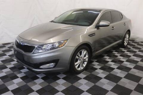 2013 Kia Optima for sale at AH Ride & Pride Auto Group in Akron OH
