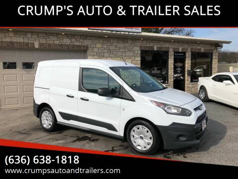 2014 Ford Transit Connect Cargo for sale at CRUMP'S AUTO & TRAILER SALES in Crystal City MO