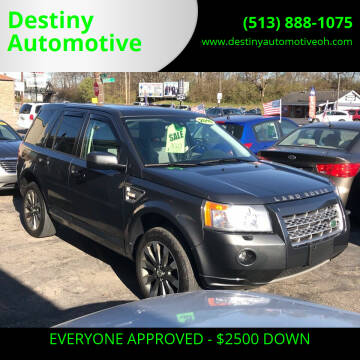 2010 Land Rover LR2 for sale at DestanY AUTOMOTIVE in Hamilton OH