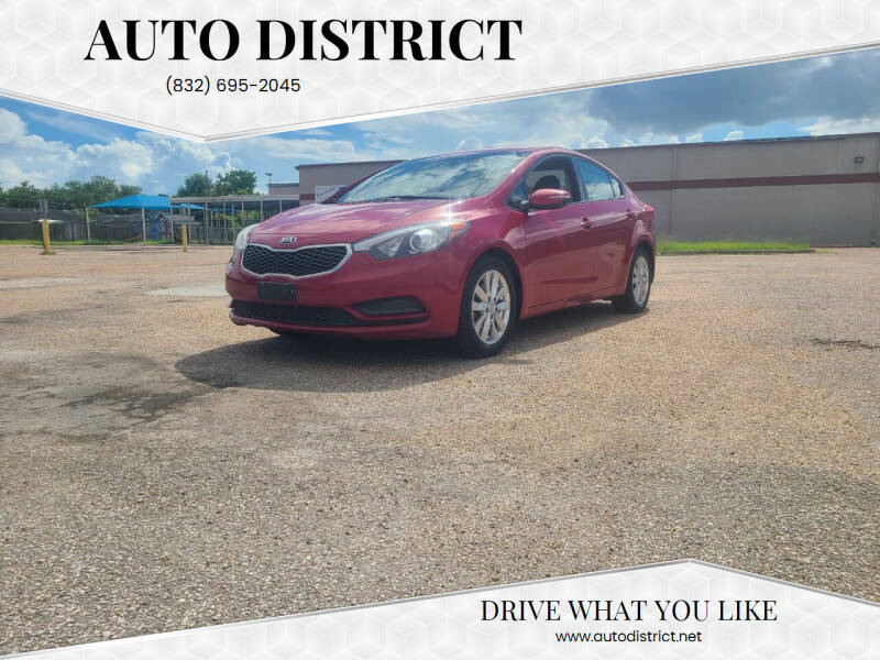 2015 Kia Forte for sale at Auto District in Baytown TX