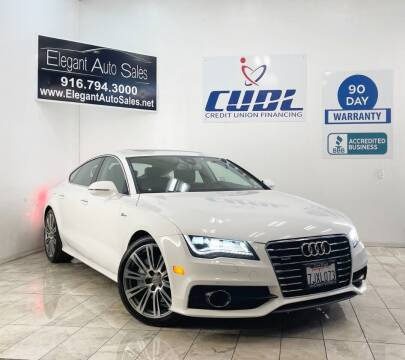 2015 Audi A7 for sale at Elegant Auto Sales in Rancho Cordova CA
