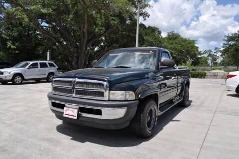 2001 Dodge Ram Pickup 1500 for sale at STEPANEK'S AUTO SALES & SERVICE INC. in Vero Beach FL