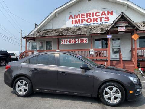 2015 Chevrolet Cruze for sale at American Imports INC in Indianapolis IN