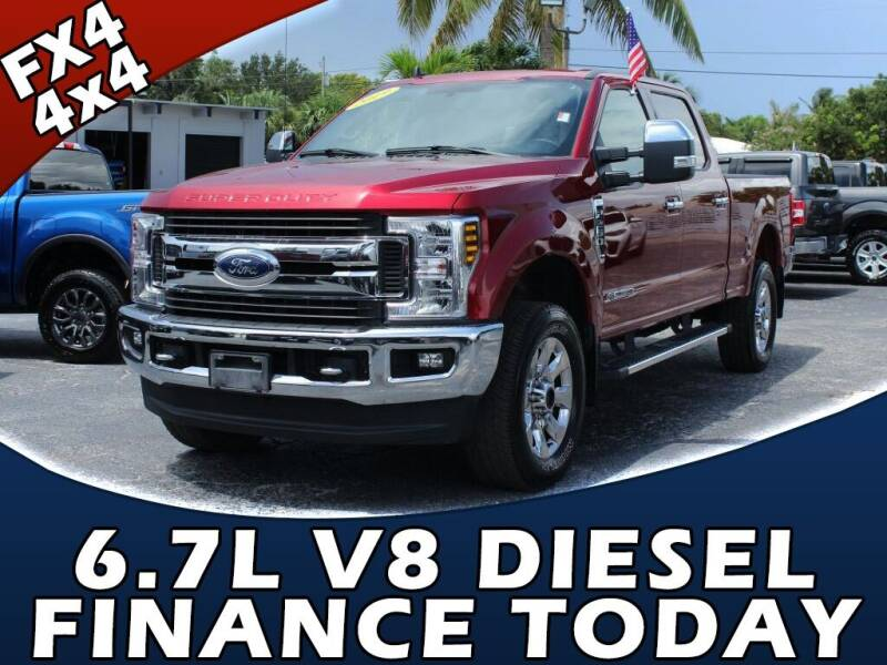 2019 Ford F-250 Super Duty for sale at Palm Beach Auto Wholesale in Lake Park FL