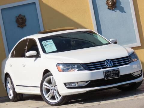 2014 Volkswagen Passat for sale at Paradise Motor Sports LLC in Lexington KY