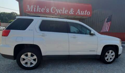 2016 GMC Terrain for sale at MIKE'S CYCLE & AUTO in Connersville IN