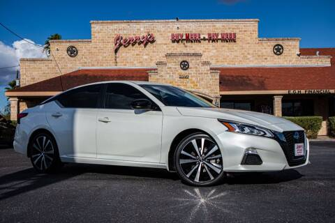 2019 Nissan Altima for sale at Jerrys Auto Sales in San Benito TX