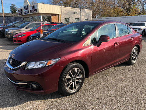 2013 Honda Civic for sale at SKY AUTO SALES in Detroit MI