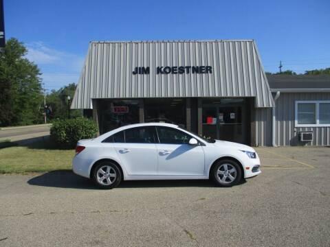 2016 Chevrolet Cruze Limited for sale at JIM KOESTNER INC in Plainwell MI