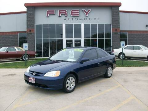 2002 Honda Civic for sale at Frey Automotive in Muskego WI