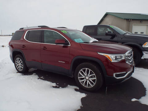 2017 GMC Acadia for sale at G & K Supreme in Canton SD