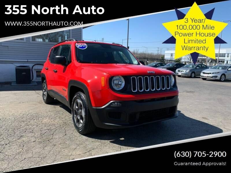 2017 Jeep Renegade for sale at 355 North Auto in Lombard IL
