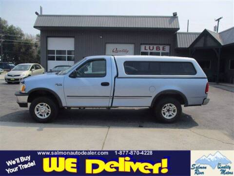 1998 Ford F-150 for sale at QUALITY MOTORS in Salmon ID