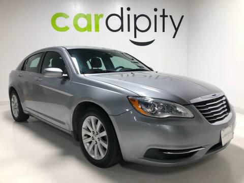2014 Chrysler 200 for sale at Cardipity in Dallas TX
