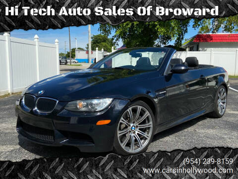 2013 BMW M3 for sale at Hi Tech Auto Sales Of Broward in Hollywood FL