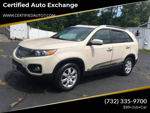 2011 Kia Sorento for sale at Certified Auto Exchange in Keyport NJ