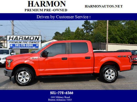 2017 Ford F-150 for sale at Harmon Premium Pre-Owned in Benton AR