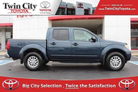2017 Nissan Frontier for sale at Twin City Toyota in Herculaneum MO