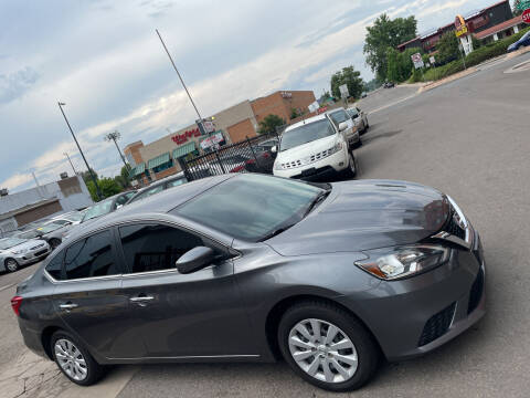 2018 Nissan Sentra for sale at Sanaa Auto Sales LLC in Denver CO