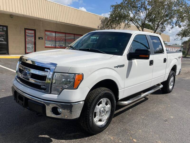 2013 Ford F-150 for sale at Top Garage Commercial LLC in Ocoee FL