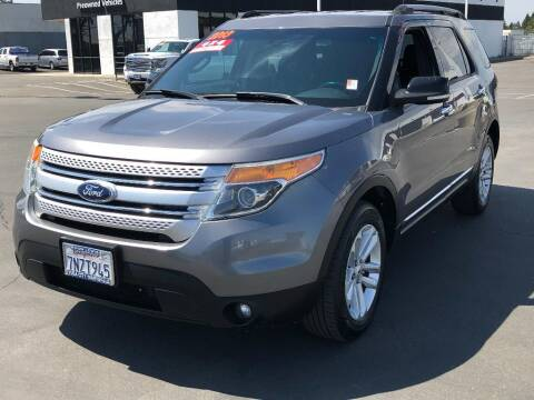 2013 Ford Explorer for sale at Dow Lewis Motors in Yuba City CA