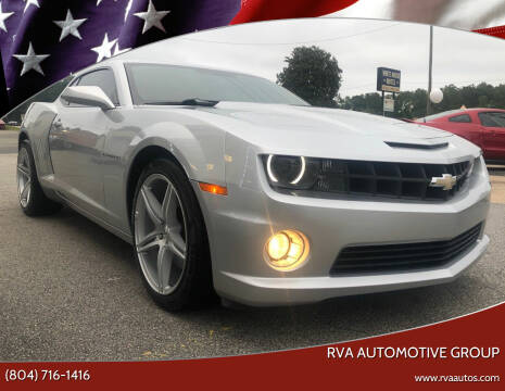 2013 Chevrolet Camaro for sale at RVA Automotive Group in North Chesterfield VA