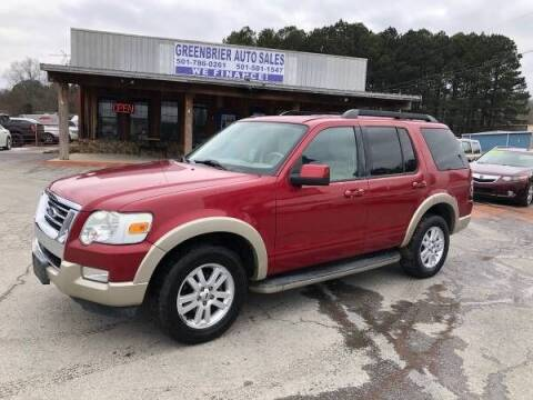 2010 Ford Explorer for sale at Greenbrier Auto Sales in Greenbrier AR