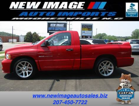 2005 Dodge Ram Pickup 1500 SRT-10 for sale at New Image Auto Imports Inc in Mooresville NC