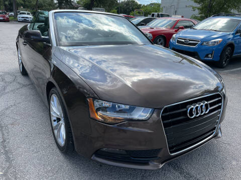 2013 Audi A5 for sale at PRESTIGE AUTOPLEX LLC in Austin TX