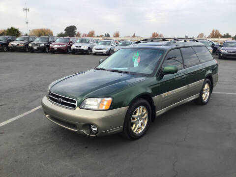 2000 Subaru Outback for sale at My Three Sons Auto Sales in Sacramento CA