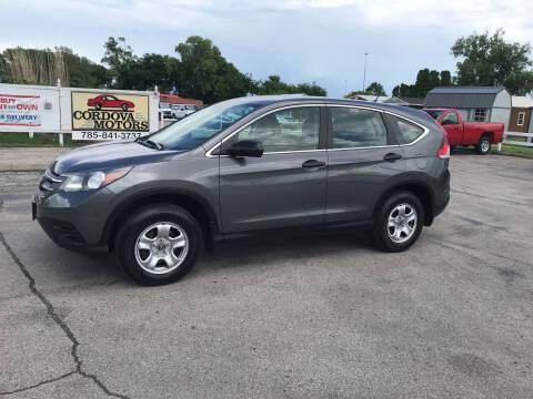 2014 Honda CR-V for sale at Cordova Motors in Lawrence KS