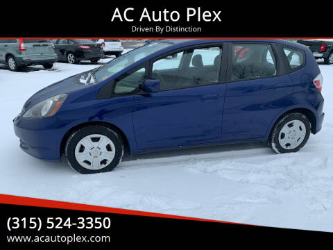 2013 Honda Fit for sale at AC Auto Plex in Ontario NY