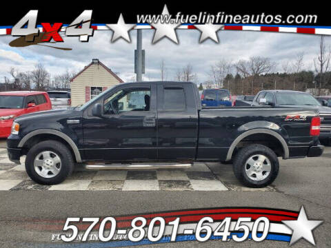 2004 Ford F-150 for sale at FUELIN FINE AUTO SALES INC in Saylorsburg PA