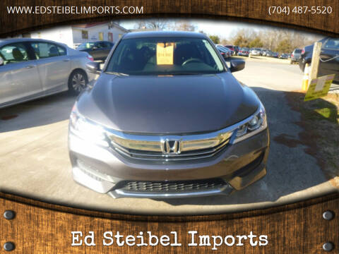 2017 Honda Accord for sale at Ed Steibel Imports in Shelby NC