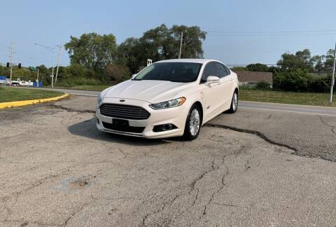 2014 Ford Fusion Energi for sale at InstaCar LLC in Independence MO