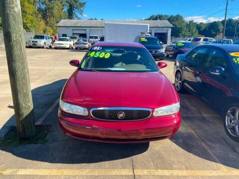 2005 Buick Century for sale at Mc Grady Motor Co in Fayetteville NC