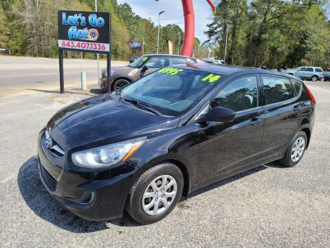 2014 Hyundai Accent for sale at Let's Go Auto in Florence SC