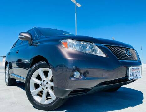 2010 Lexus RX 350 for sale at Bay Cars R Us in San Jose CA