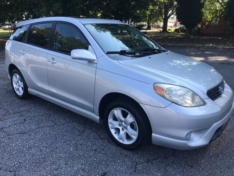 2006 Toyota Matrix for sale at Cherry Motors in Greenville SC