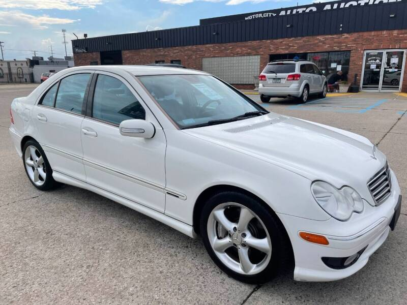 2006 Mercedes-Benz C-Class for sale at Motor City Auto Auction in Fraser MI