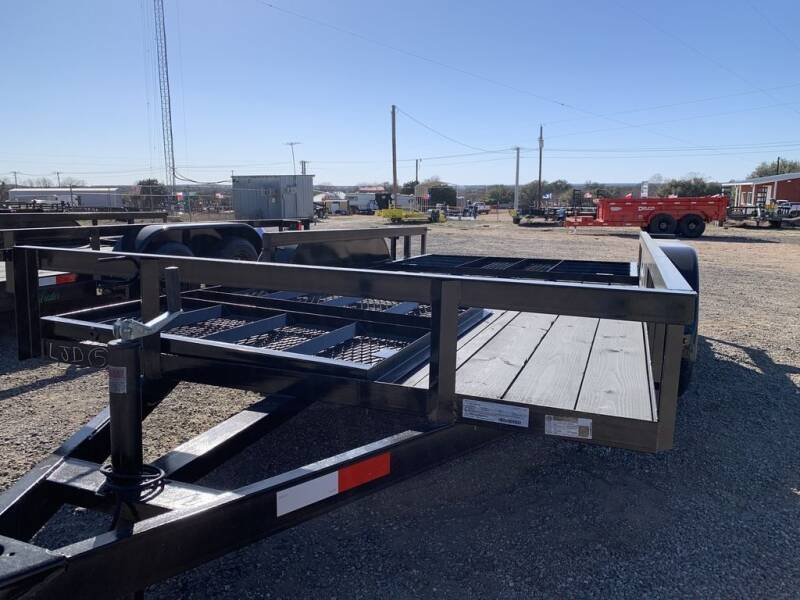 """2021 P & C  - Utility 77""""X14' -2 Gat for sale at LJD Sales in Lampasas TX"""