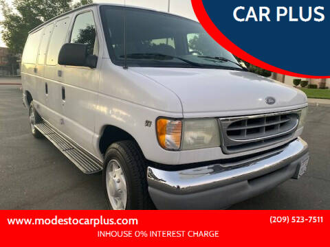 2002 Ford E-Series Wagon for sale at CAR PLUS in Modesto CA