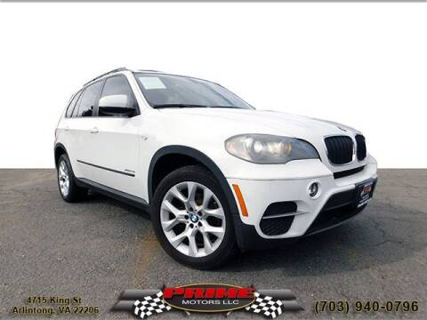 2011 BMW X5 for sale at PRIME MOTORS LLC in Arlington VA