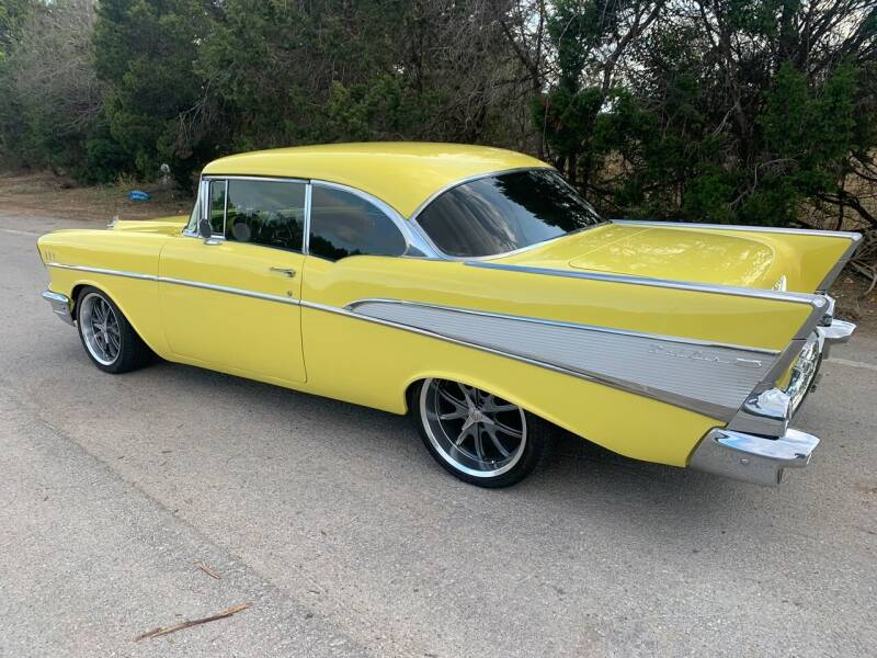 1957 Chevrolet Bel Air for sale at TROPHY MOTORS in New Braunfels TX