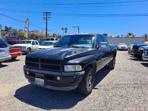1997 Dodge Ram Pickup 1500 for sale at ALSA Auto Sales in El Cajon CA